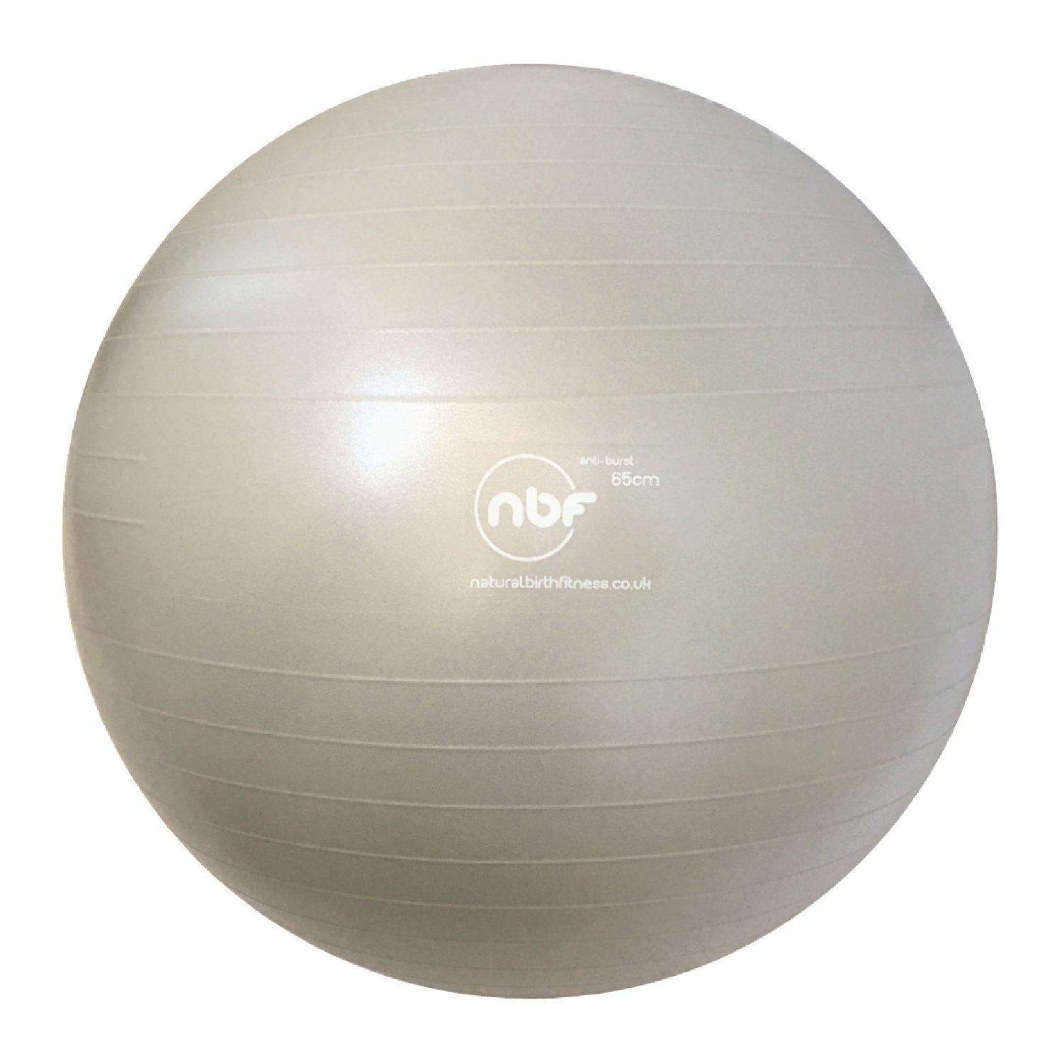 NBF Birth Ball in silver