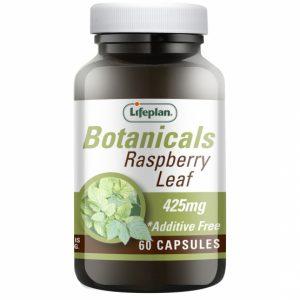 Botanicals Raspberry Leaf 60 capsules