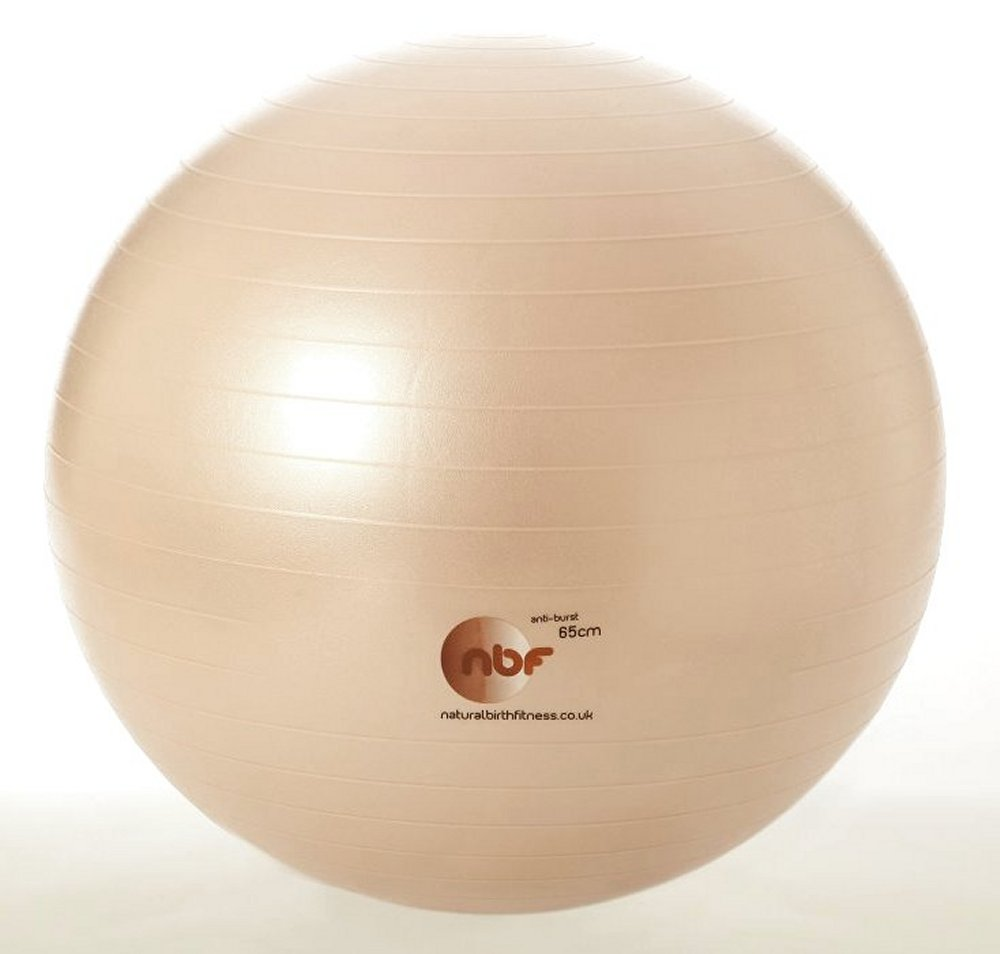 NBF Birth Ball in pale gold