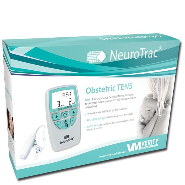 NeuroTrac Obstetric TENs unit - latest style boxed