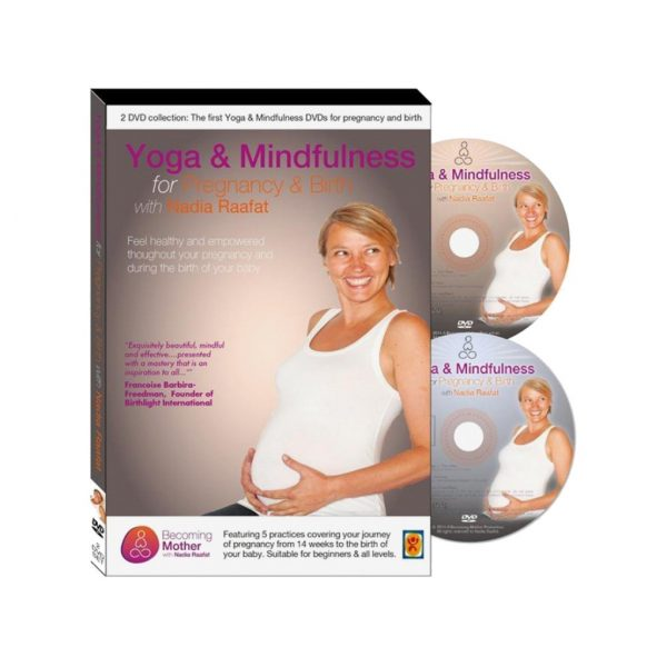 Yoga Mindfulness for Pregnancy & Birth DVDs with Nadia Raafat